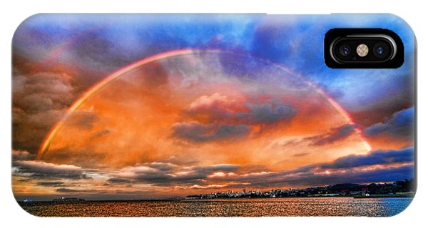Over The Top Rainbow IPhone Case
