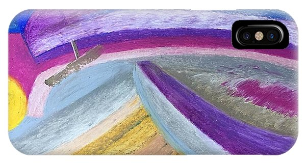IPhone Case featuring the painting Over The Waves by Norma Duch