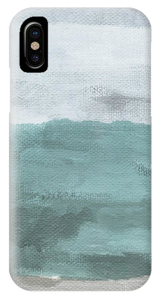 Sky iPhone Case - Overcast- Art By Linda Woods by Linda Woods