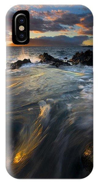 Cauldron iPhone Case - Overflow by Mike  Dawson