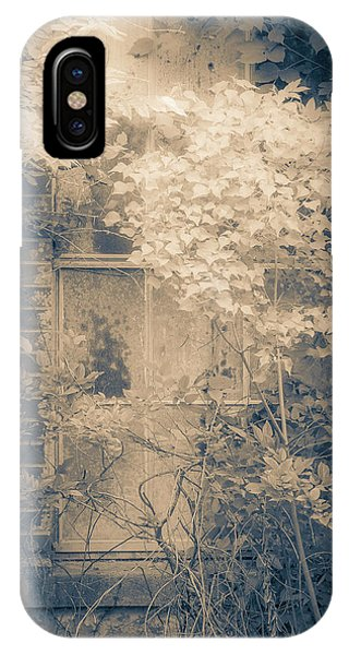 Overgrowth On Abandoned Pumping Station IPhone Case