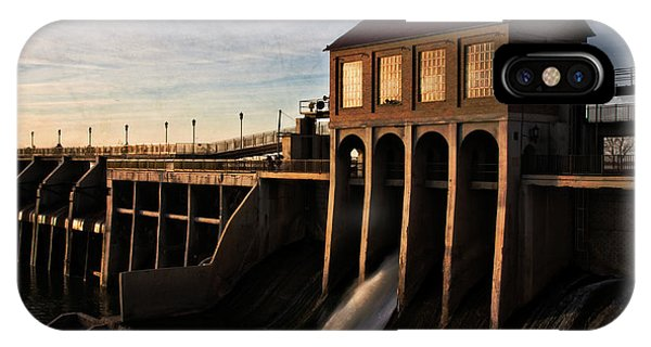 Overholser Dam IPhone Case