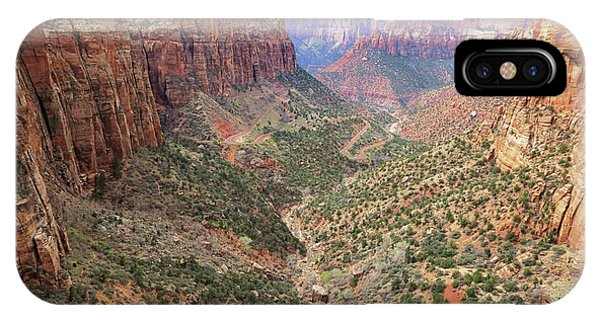 Overlook Canyon IPhone Case