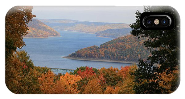 Overlooking Kinzua Lake IPhone Case