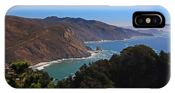 Overlooking Marin Headlands IPhone Case