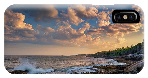 Overlooking Muscongus Bay IPhone Case