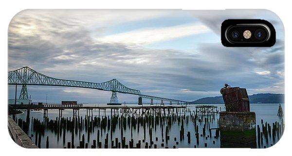 Overlooking The Bridge IPhone Case