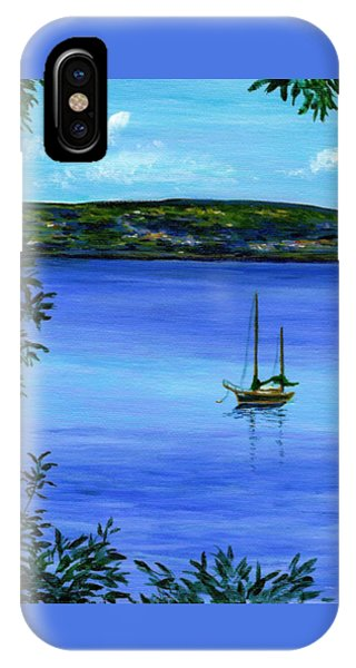 Overlooking The Hudson IPhone Case