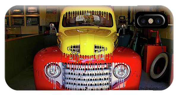 Overpainted 1950 Ford Pickup IPhone Case