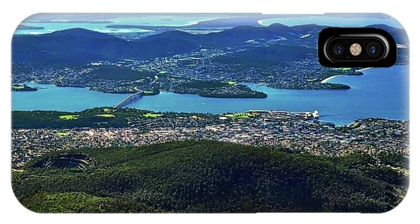 Overview Of Hobart Tasmania IPhone Case