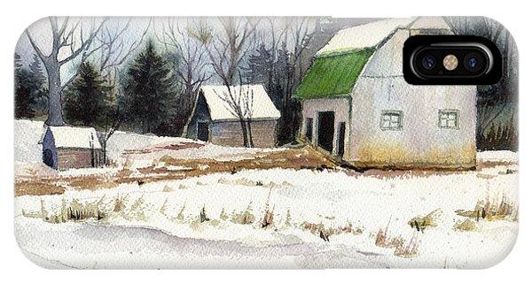 Owen County Winter IPhone Case