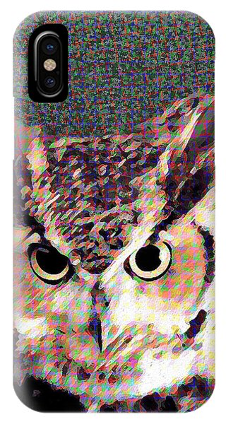 Owl By Patricia Griffin IPhone Case