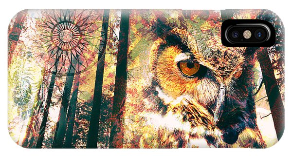 Owl Medicine 2015 IPhone Case