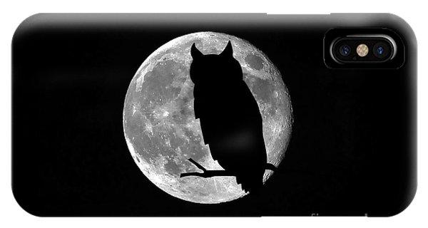 Owl Moon IPhone Case