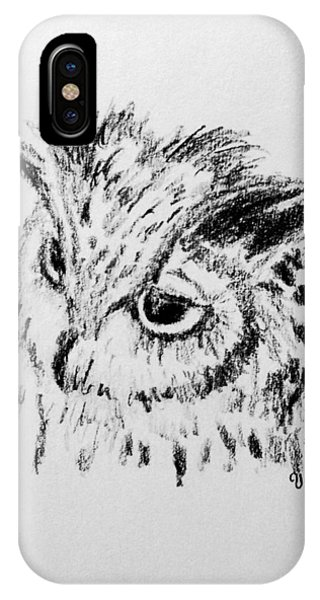 Owl Study IPhone Case
