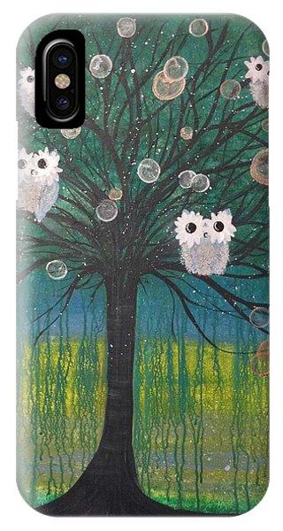 Owl Tree Of Life #378 IPhone Case