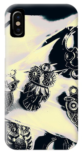 Metal iPhone Case - Owls From Blue Yonder by Jorgo Photography - Wall Art Gallery
