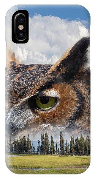 Owl's Rest IPhone Case