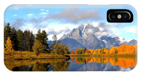 Mt Moran At Oxbow Bend IPhone Case