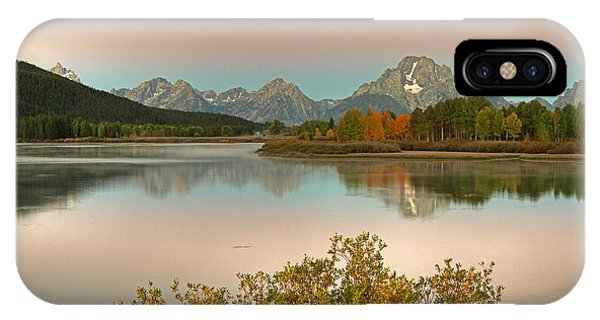 IPhone Case featuring the photograph Oxbow Bend by Gary Lengyel