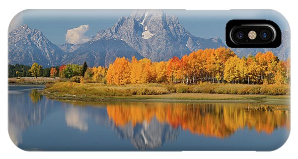 Oxbow Bend Reflection IPhone Case