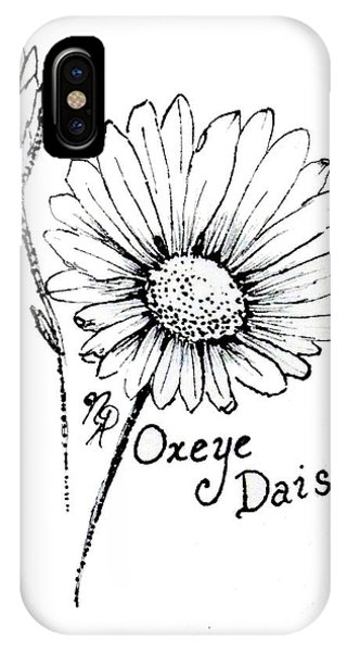 Oxeye Daisy IPhone Case