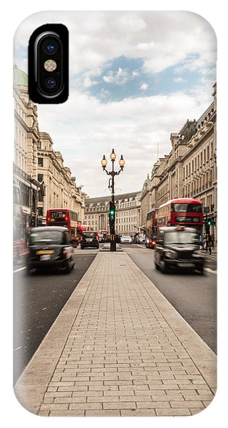Oxford Street In London IPhone Case