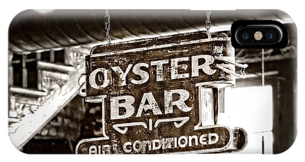 Oyster Bar iPhone Case - Oyster Bar by Jarrod Erbe