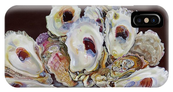 Oyster Shell Study At Low Tide IPhone Case