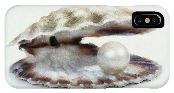 Oyster With Pearl IPhone Case