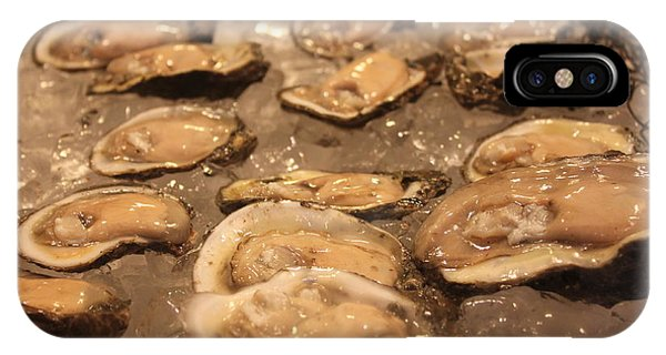 Oyster Bar iPhone Case - Oysters by Lauri Novak
