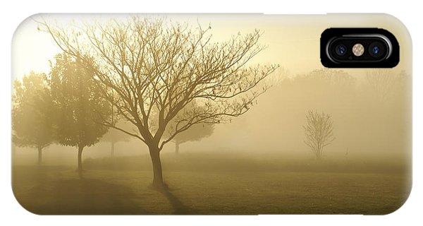 Ozarks Misty Golden Morning Sunrise IPhone Case