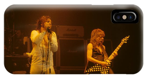 Ozzy Ozbourne And Randy Rhoads IPhone Case