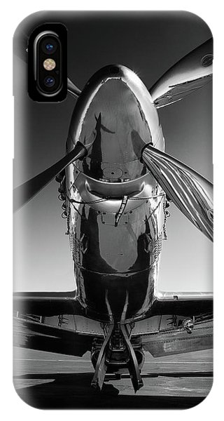 Airplanes iPhone Case - P-51 Mustang by John Hamlon