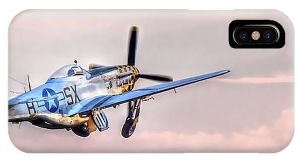 P-51 Mustang Taking Off IPhone Case