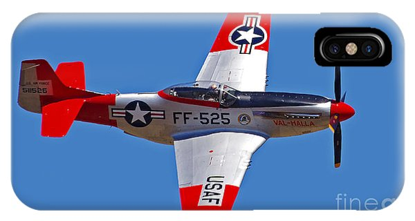 P-51d Mustang Flyby IPhone Case