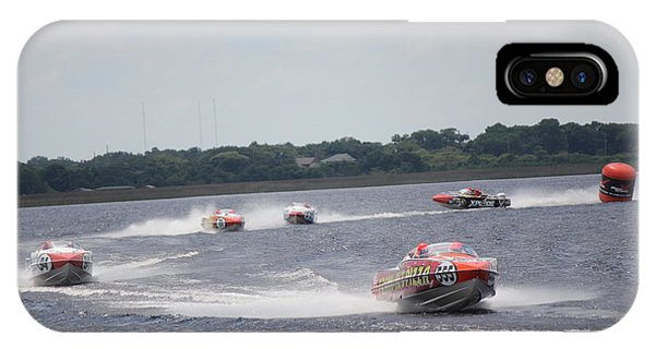 P1 Powerboats Orlando 2016 IPhone Case