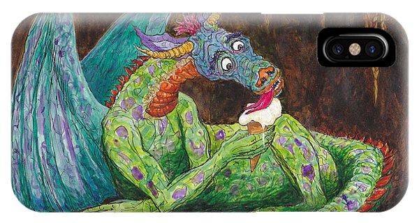 Dragons Love Ice Cream IPhone Case