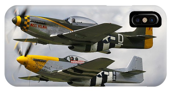 P51 Mustangs IPhone Case