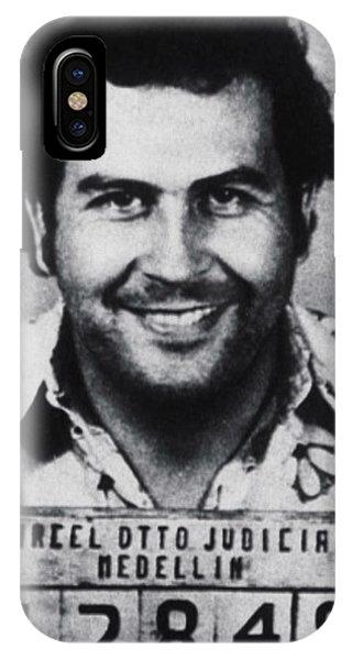 Pablo Escobar Mug Shot 1991 Vertical IPhone Case