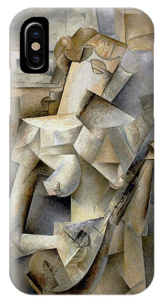 Pablo Picasso Girl With A Mandolin 1910 IPhone Case