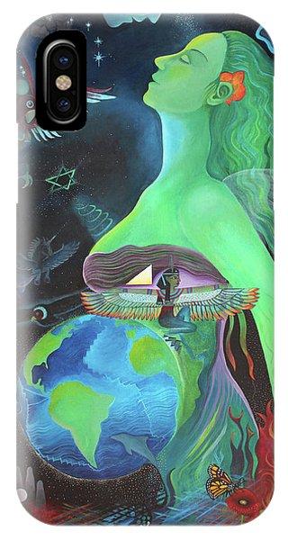 Pachamama Phone Case by Sarah Grubb