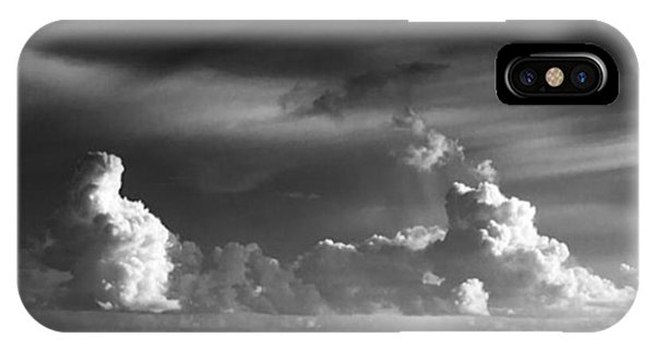 Fineart iPhone Case - Pacific Clouds. Digital Photo Taken by Alex Snay