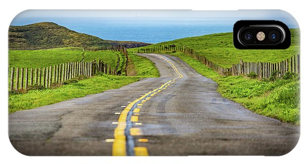 Pacific Coast Road To Tomales Bay IPhone Case