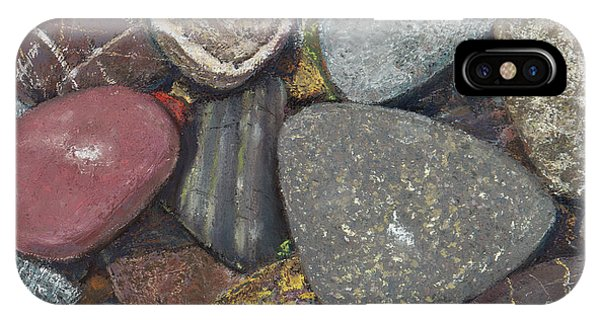 Pacific Nw Beach Rocks IPhone Case