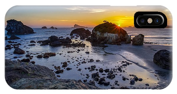 Pacific Ocean Northern California Sunset IPhone Case