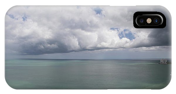Pacific Storm Panorama IPhone Case