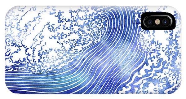 Waves iPhone Case - Pacific Waves II by Stevyn Llewellyn