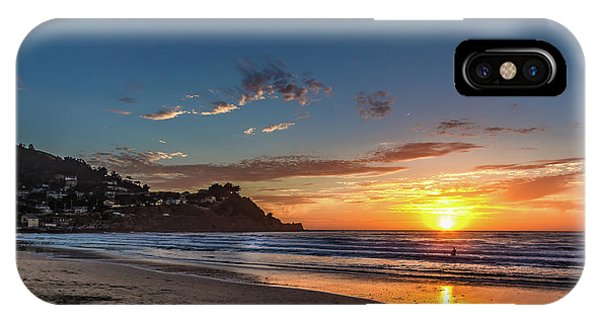 iPhone Case - Pacifica Sunset by Bill Gallagher