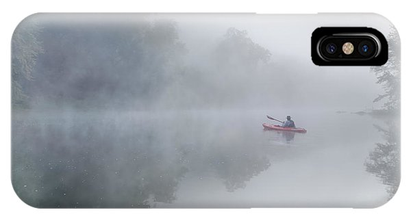 Paddling In The White IPhone Case